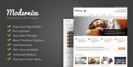 ThemeForest - Modernize v1.13 - Flexibility of WordPress