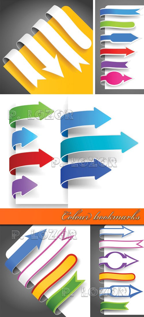 Colour bookmarks