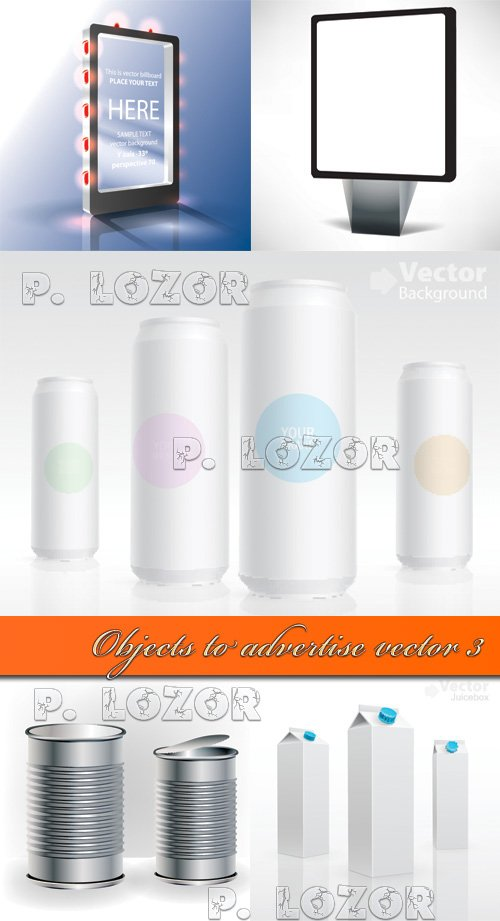 Objects to advertise vector 3
